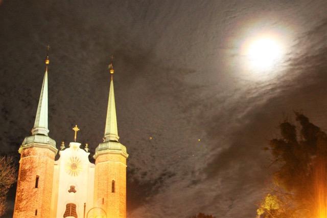 Pełnia Księżyca / Fot. Justyna Urbańska