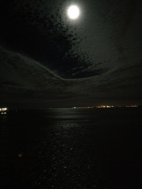 Pełnia Księżyca, Sopot / Fot. Ania Libertowska