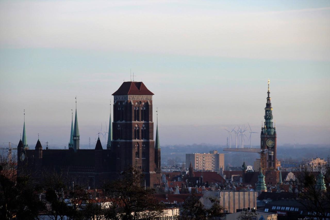 Panorama Gdańska. Fot. Justyna Urbańska
