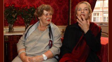 Prof. Ewa Nawrocka i dr Grażyna Totwen Kilarska
