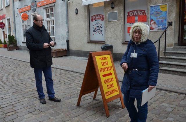 Ewa Jaroszyńska i Paweł Adamowicz
