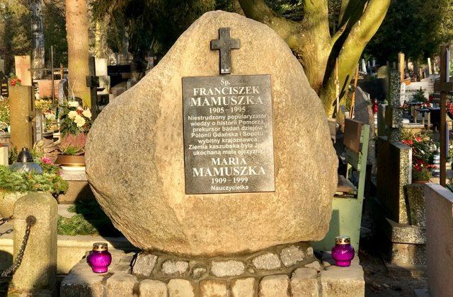 Nagrobek Franciszka Mamuszki