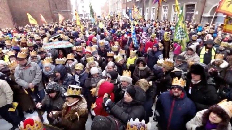 Gdańsk. Orszak Trzech Króli 2017