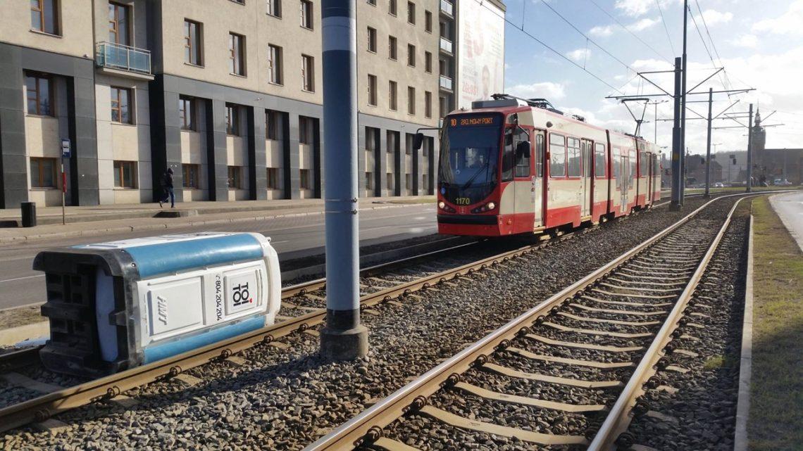 Toi Toi na torach w Gdańsku