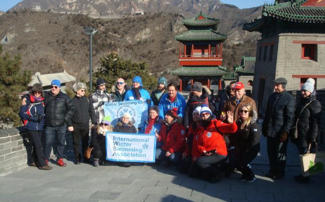 Za chwilę wspinaczka na Wielki Chiński Mur w pobliżu Pekinu, 12 stycznia (fot. W. Lorbiecki)