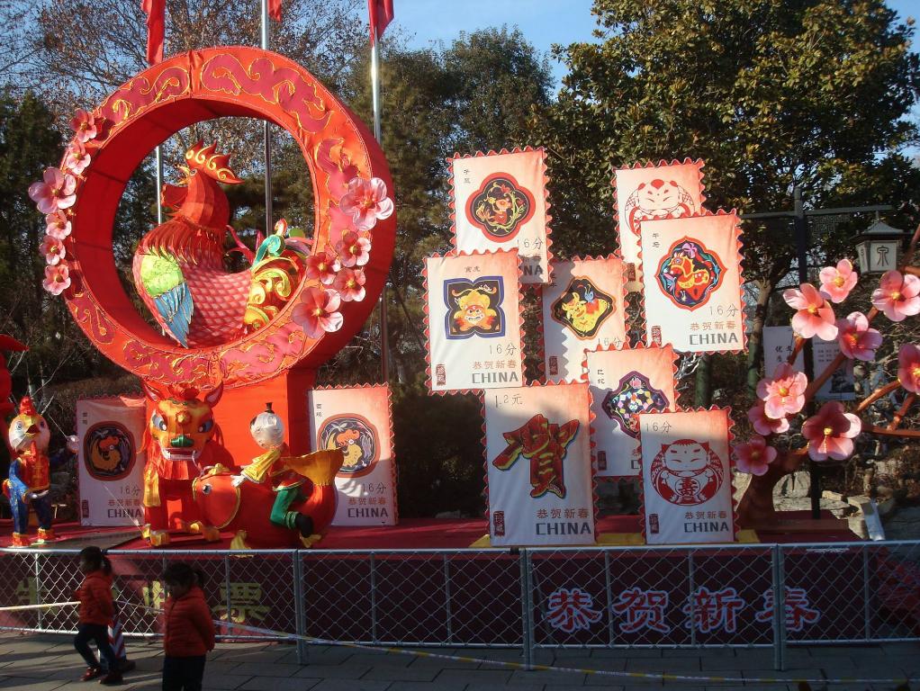 """Spacer po Taierzhaung 15 stycznia; przygotowania do powitania Nowego Roku. 2017 będzie """"Rokiem Koguta"""""""