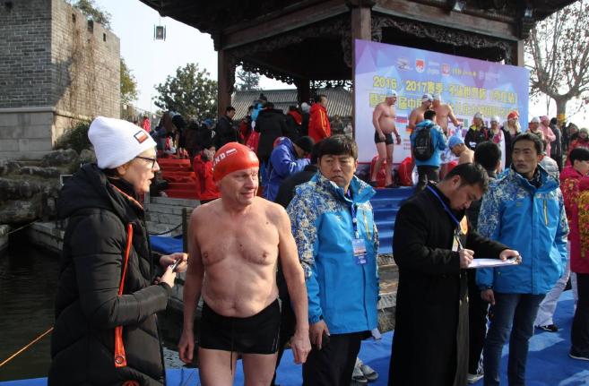 I po wyścigu, The 3rd China International Winter Festival Taierzhaung, Zaozhuang City, 16 stycznia (fot. S.Bukharin)
