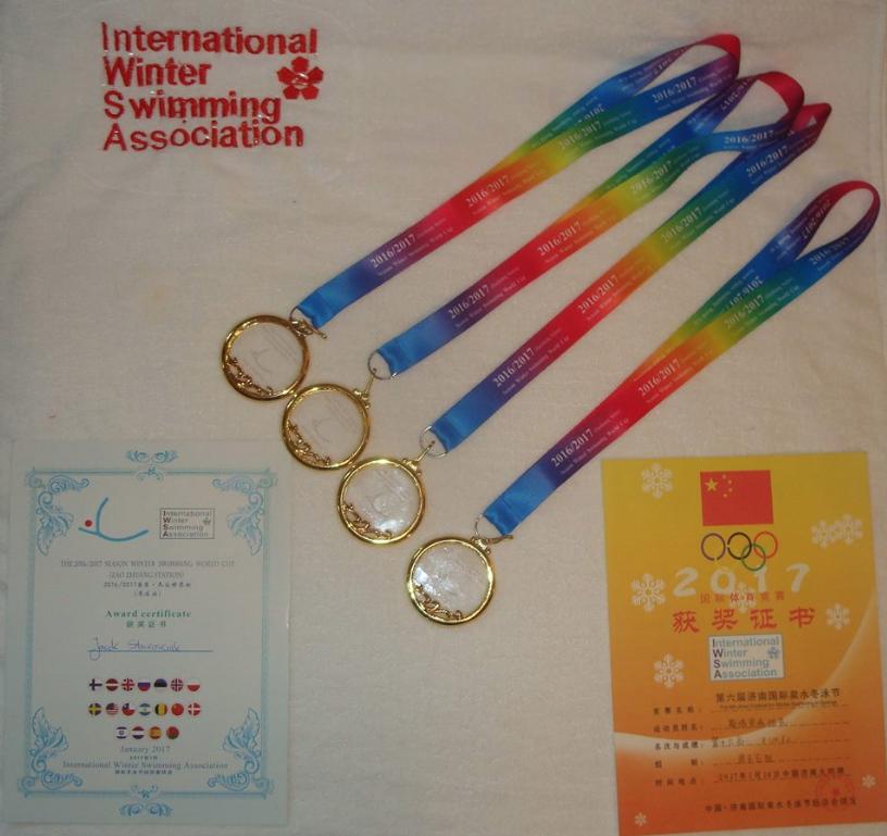 Moje cztery złote medale