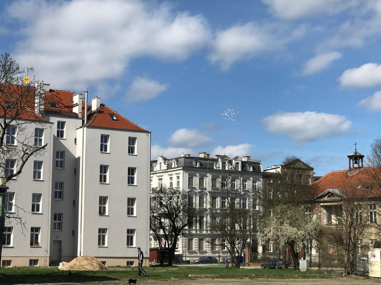 Dolne Miasto - ul. Wróbla, Łąkowa i Zdzisława Kieturakisa