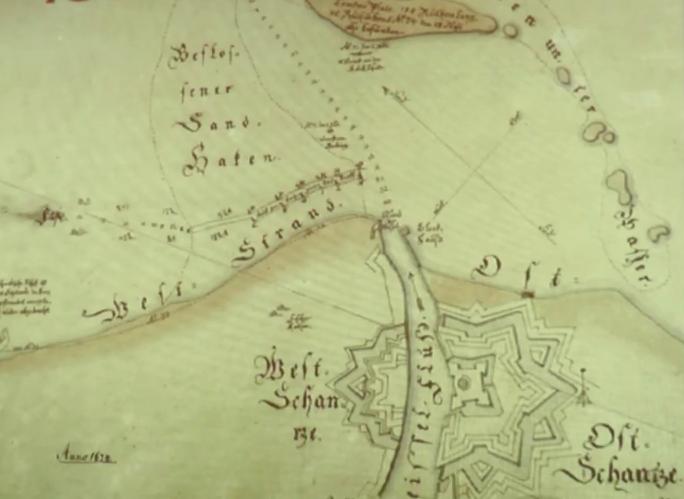 Paleogeografia obszar ujściowego Wisły Gdańskiej