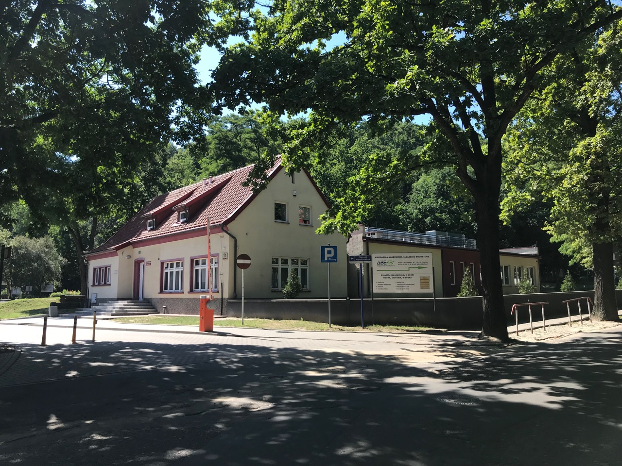 Dozorcówka i siedziba ogrodnika