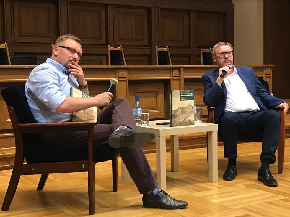 Od prawej: Jakub Szczepański i Jan Daniluk