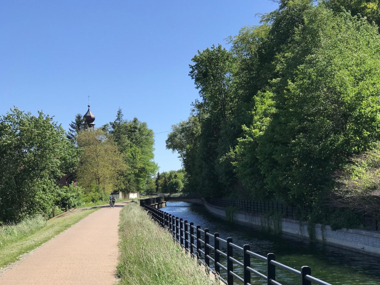 Kanał Raduni w Świętym Wojciechu