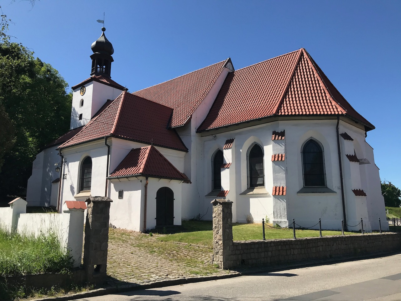 Kanał Raduni. Sanktuarium św. Wojciecha w Gdańsku.