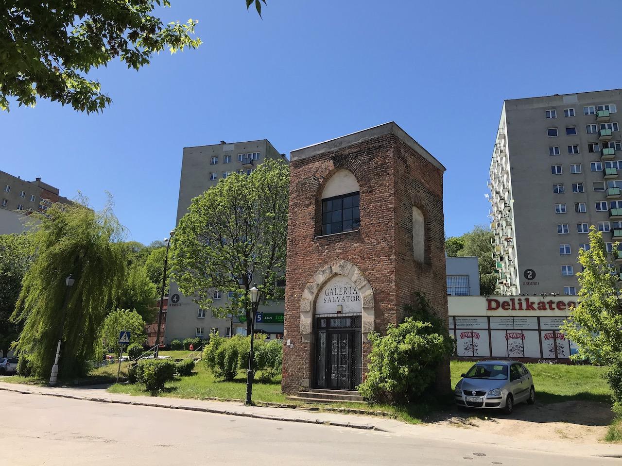 Pozostałości kościoła Zbawiciela w Gdańsku