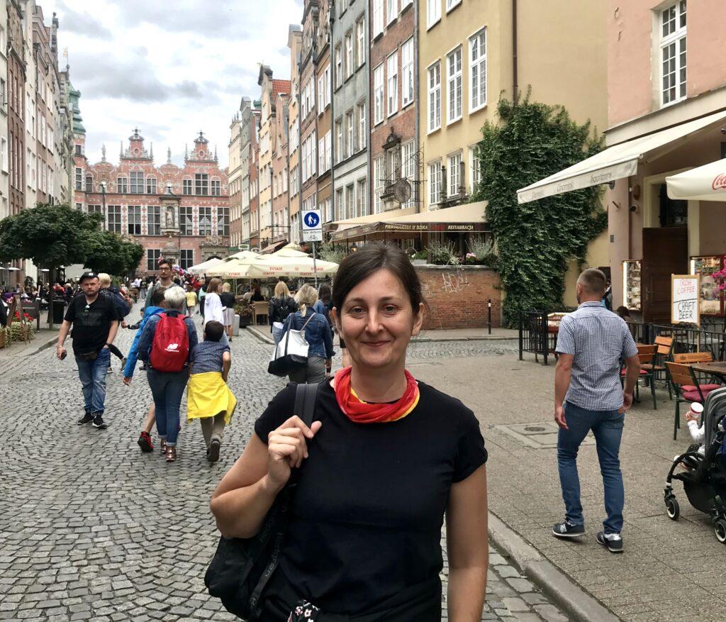 Anna Perz - przewodniczka po Gdańsku