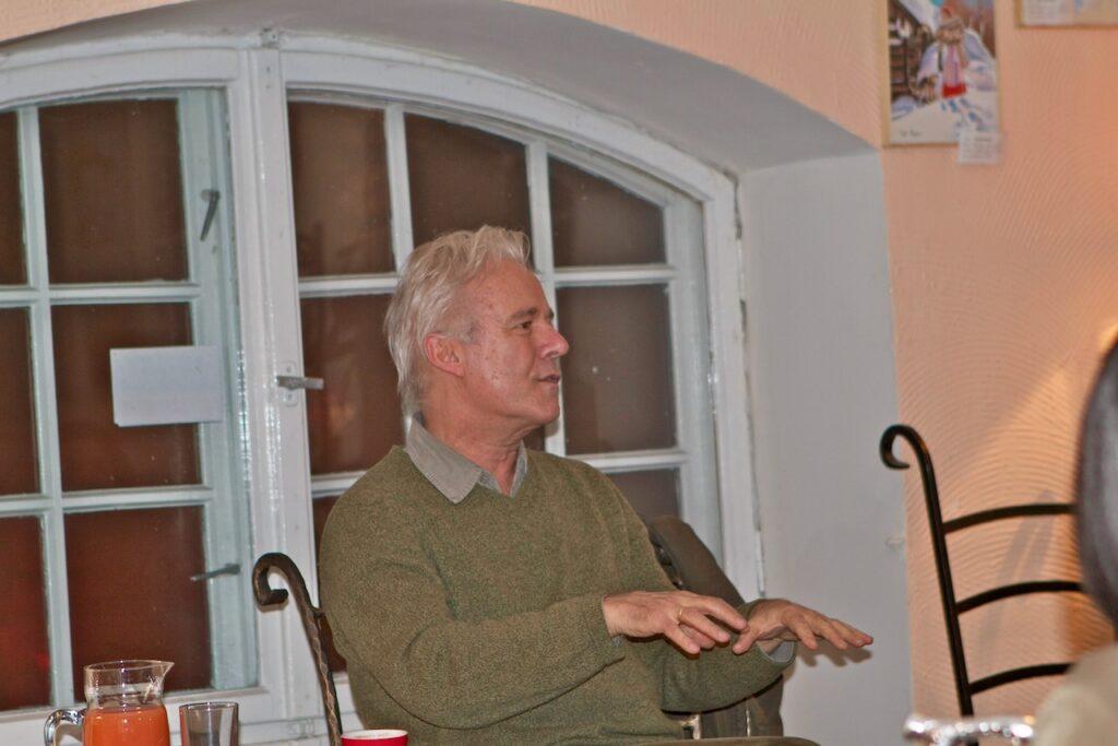 Prof. Jerzy Limon w Domu Zarazy